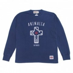 "★30%OFF★ ANIMALIA L/STシャツ ""SAI L/S"" (Vintage Navy)"