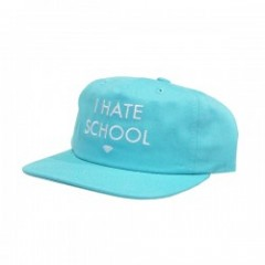 "Diamond Supply Co. ""I HATE SCHOOL SNAPBACK"" D.Blu"