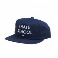 "Diamond Supply Co. ""I HATE SCHOOL SNAPBACK"" Navy"