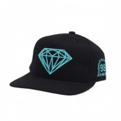 "Diamond Supply Co. ""BRILLIANT SP17 SNAPBACK"" Black"