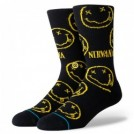 "STANCE×NIRVANA ソックス ""NIRVANA FACE"" (Black)"
