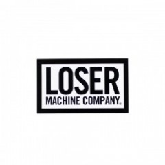 "LOSER MACHINE ステッカー ""LOSER BOX STICKER"" LARGE"