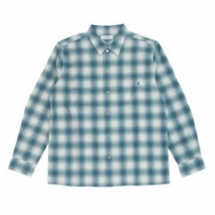 "RADIALL L/Sシャツ ""CMW SHIRT L/S"" (Turquoise Blue)"