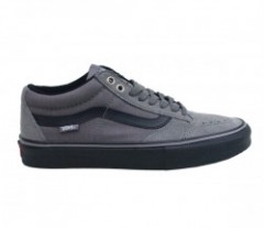 "VANS ""TNT SG"" (HERRINGBONE) Gray/Black"