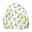 "RADIALL L/Sシャツ ""FLAMINGO OPEN COLLARED SHIRT L/S"" (White)"