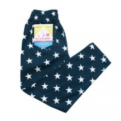 "COOKMAN シェフパンツ ""CHEF PANTS"" (Star / Navy)"
