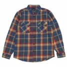 "BRIXTON L/Sシャツ ""BOWERY L/S FLANNEL"" (Blue / Red)"