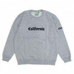 "seedleSs クルースウェット ""CALIFORNIA CREW SWEAT"" (H.Gray)"