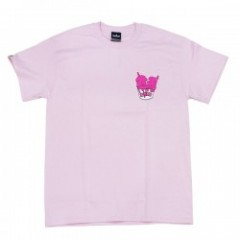 "Deviluse Tシャツ ""I SCREAM TEE"" (Light Pink)"