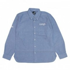 "range L/Sシャツ ""RG OX B.D.SHIRTS"" (Blue)"