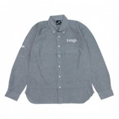 "range L/Sシャツ ""RG OX B.D.SHIRTS"" (Gray)"