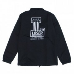 "LOSER MACHINE コーチジャケット ""DEALERSHIP"" (Black)"