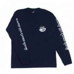 "range L/STシャツ ""RG SLEEVE MESSAGE L/S TEE"" (Navy)"