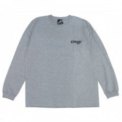 "range L/STシャツ ""RG LOGO EMB L/S TEE"" (Heather Gray)"
