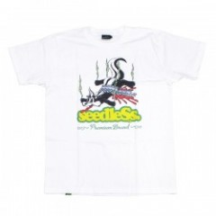 "seedleSs Tシャツ ""SD SKUNK 90'S S/S TEE"" (White)"