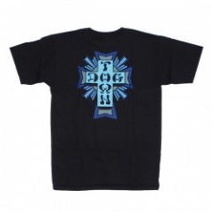 "DOGTOWN Tシャツ ""CROSS LOGO COLOR TEE"" (Black)"