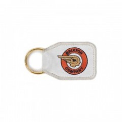 "BRIXTON キーホルダー ""TRIBUTE KEY CHAIN"" (Orange/White)"