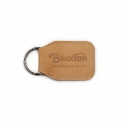 "BRIXTON キーホルダー ""TRIBUTE KEY CHAIN"" (Natural)"