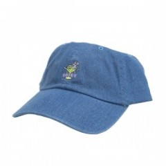 "OBEY キャップ ""BURLESQUE 6 PANEL CAP"" (Light Denim)"