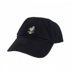 "OBEY キャップ ""BURLESQUE 6 PANEL CAP"" (Black)"