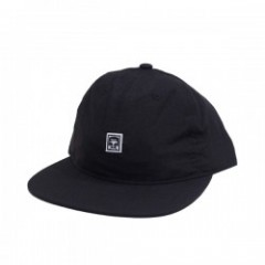 "OBEY キャップ ""HALF FACE 6 PANEL CAP"" (Black)"