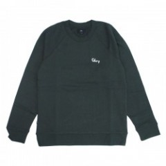 "OBEY クルースウェット ""LOFTY CHAIN STITCH CREW"" (Black)"