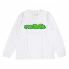 "seedleSs L/S Tシャツ ""COOP REGULAR L/S TEE"" (White)"