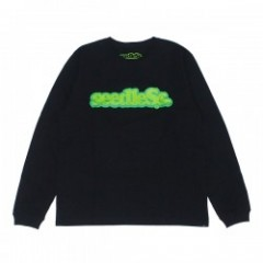 "seedleSs L/S Tシャツ ""COOP REGULAR L/S TEE"" (Black)"