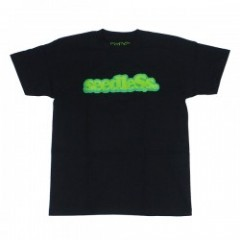 "seedleSs Tシャツ ""COOP TEE Regular"" (Black)"