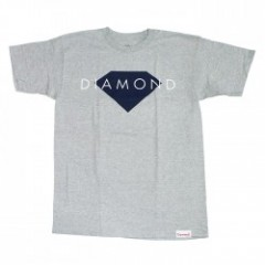 "DIAMOND SUPPLY CO. ""DIAMOND SOLID TEE"" (A.Heather)"