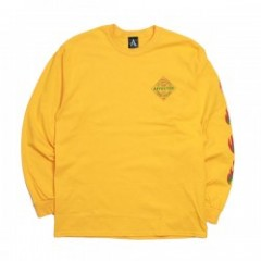 "AFFECTER L/STシャツ ""SPICE L/S TEE"" (Yellow)"