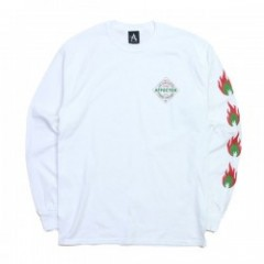 "AFFECTER L/STシャツ ""SPICE L/S TEE"" (White)"