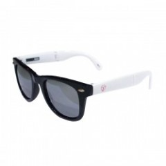 "Deviluse サングラス ""FOLDING SUNGLASS"" (Black/White)"