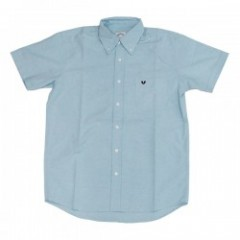 "Deviluse S/Sシャツ ""OXFORD SHIRTS"" (Light Blue)"