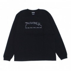 "THRASHER ""NEW RELIGION WORLDWIDE L/STEE"" (Black)"