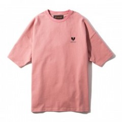 "Deviluse Tシャツ ""HEARTACHES BIG TEE"" (Pink)"