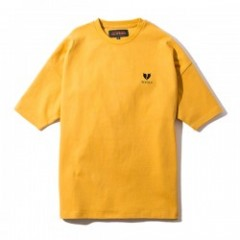 "Deviluse Tシャツ ""HEARTACHES BIG TEE"" (Mustard)"