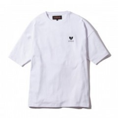 "Deviluse Tシャツ ""HEARTACHES BIG TEE"" (White)"