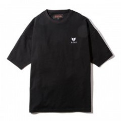 "Deviluse Tシャツ ""HEARTACHES BIG TEE"" (Black)"