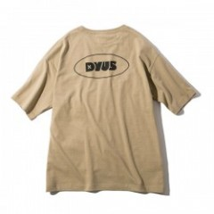 "Deviluse レディースTシャツ ""WOMAN D POCKET TEE"" (Sand)"