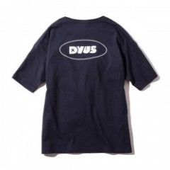"Deviluse レディースTシャツ ""WOMAN D POCKET TEE"" (Navy)"