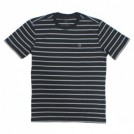 "BRIXTON Tシャツ ""HILT SHIELD S/S KNIT"" (Washed Black)"