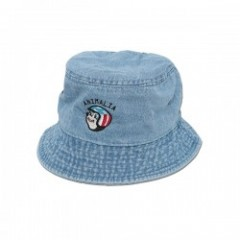 "ANIMALIA ハット ""CHEESY RIDER HAT"" (Light Denim)"