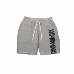 "ANIMALIA ショーツ ""TRACK SHORTS-Slashed"" (Gray)"