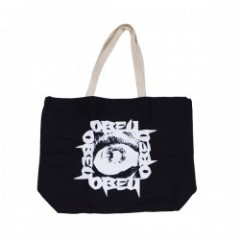 "OBEY トートバッグ ""TUNNEL VISION TOTE BAG"" (Black)"