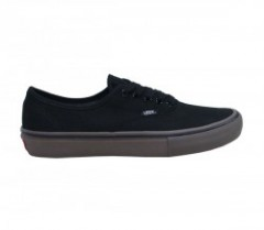 "VANS ""AUTHENTIC PRO"" (CANVAS) Black/Gum"