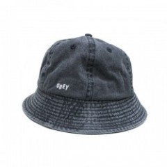 "OBEY ハット ""DECADES BUCKET HAT"" (Black)"