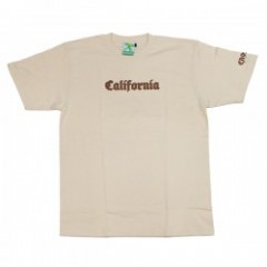 "seedleSs Tシャツ ""CALIFORNIA S/S TEE"" (Natural)"