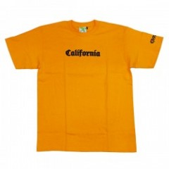 "seedleSs Tシャツ ""CALIFORNIA S/S TEE"" (Gold Yellow)"