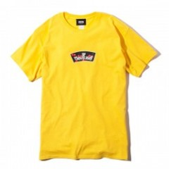 "Deviluse Tシャツ ""LOGO&CHERRY TEE"" (Yellow)"